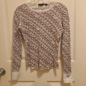 Fox Riders Company Thermal Long Sleeve Shirt